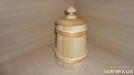 Бочонок деревянный Большой 28 см