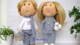 Интерьерные куклы ′Гости′
