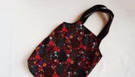Сумка-авоська для покупки продуктов текстильная из плащевки
