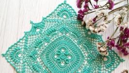 Квадратная салфетка ручной работы ′Фариза′