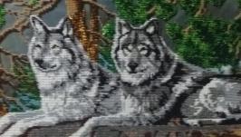 Волки бисером