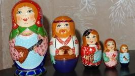 Матрёшка ′Музыкальная семейка′