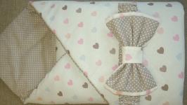 Одеяло-конверт утепленное,двухстороннее (осень-зима)