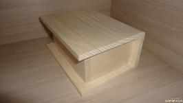 Сумка деревянная - основа клатчбук