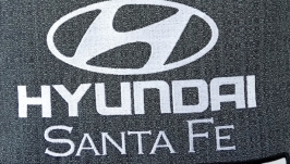 Подушка с логотипом и номером авто