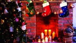Сапожки рождественские