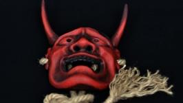 Ханья. Hannya. Японская маска Но.