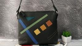 Стильна жіноча сумка Абстракція осінь