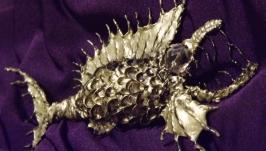Брошь ′Золотая рыбка′