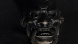 Шиками. Shikami. Японская маска Но.