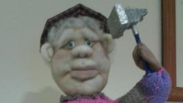 Кукла из чулка на заказ