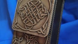 Кожаный чехол для колоды карт Таро