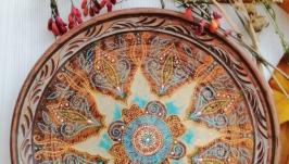Декоративная тарелка′ Этника′
