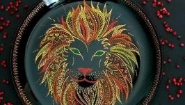 ′Лев′ декоративная тарелка