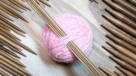 Спицы чулочные для вязания, 20см 2-10 мм. Бамбуковые. Наборы
