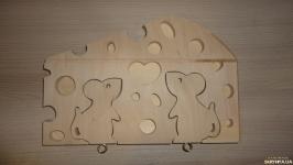 Ключница - брелок Влюбленные мышки