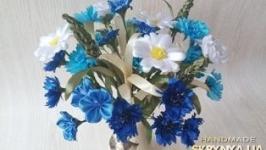 Букет польових квітів ручної роботи