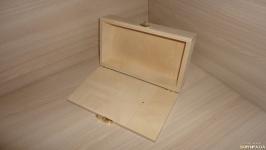 Сумка деревянная - основа клатч с замочком