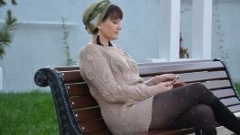 Пуловер Листья