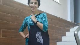 Еко-сумка Сова від Richelieu Studio LO