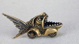 Сувенир ′Механическая пиранья′