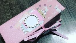 Коробочка Мамины сокровища для девочки в наличии!