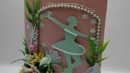 Открытка ручной работы ′Времена года. Весна′