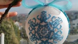 Ялинкова іграшка ′Сніжинка′
