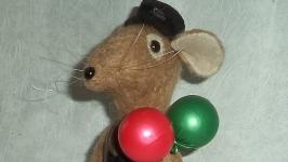 Игрушка интерьерная крыс ЭНДРЮ
