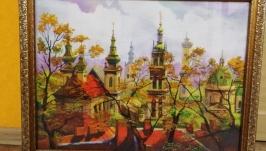 Вышивка ′Город Львов′