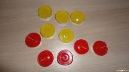 Аромасвечи-таблетки 10 шт