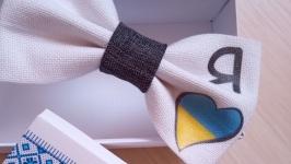 Краватка метелик патріотичний