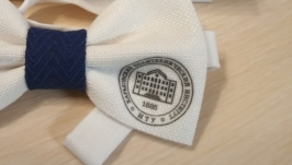 Галстук бабочка лого университета
