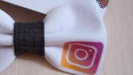 Краватка метелик Instagram