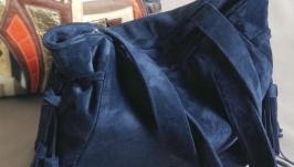 Замшенвая сумка G2