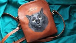 Кожаная сумка ′АКСЕЛЬ′