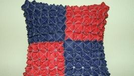 Декоративная подушка с ′буфами′