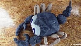 Декоративная подушка ′Скорпион′