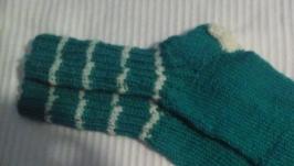 Зеленые носочки