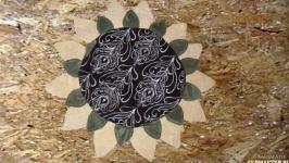 Декоративная подушка ′Подсолнух′
