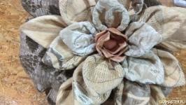 Декоративная подушка ′Лотос′