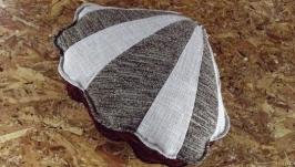 Декоративная подушка ′Ракушка′