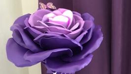 Светильник Цветок фиолетовый