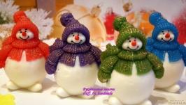 Мыло Снеговик пухляш