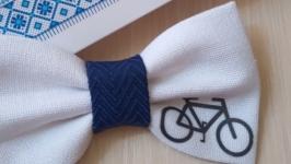 Краватка метелик велосипедист