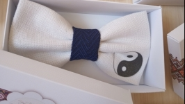 Краватка метелик Інь Янь
