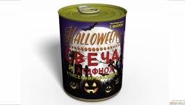 Консервированная Свеча и Конфета для Halloween - Аксессуар для Хелоуина