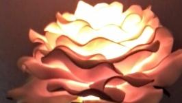 Роза нічник світильник