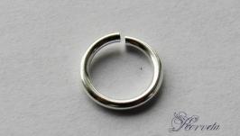 Кольцо соединительное из серебра 925 пробы