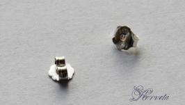 Заглушки для гвоздиков серебряные